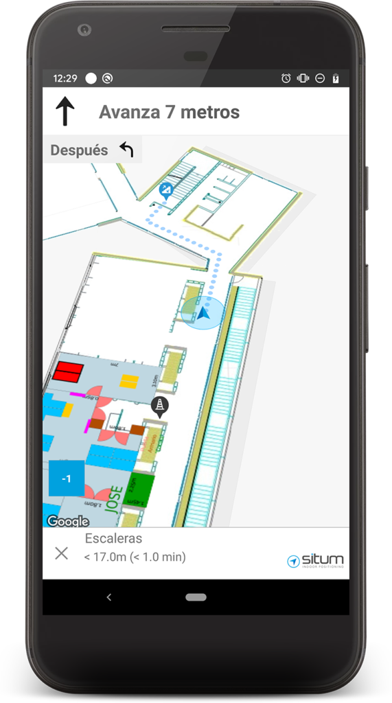 indoor positioning for facility management