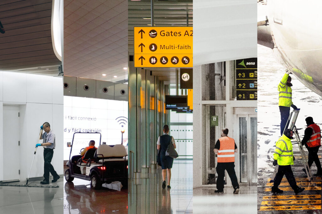 Airport handling management through geolocation with Situm