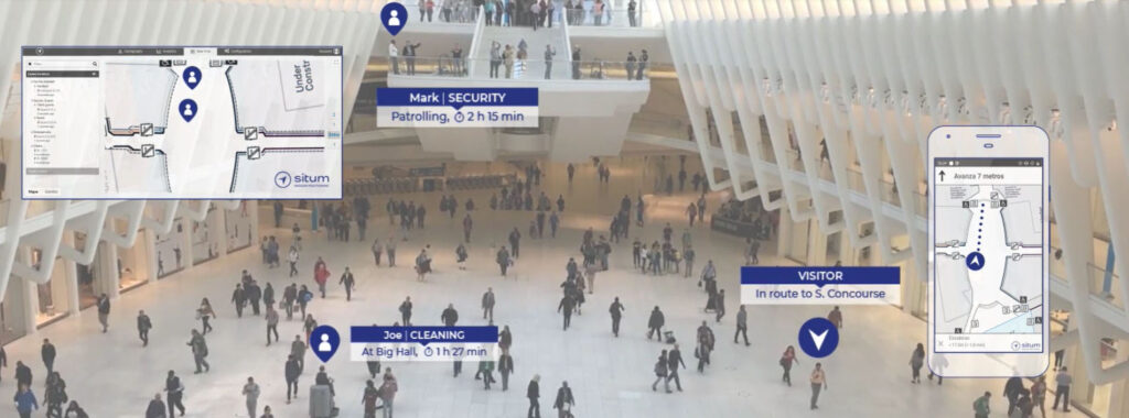 Indoor positioning system for indoor location indoor navigation and indoor tracking