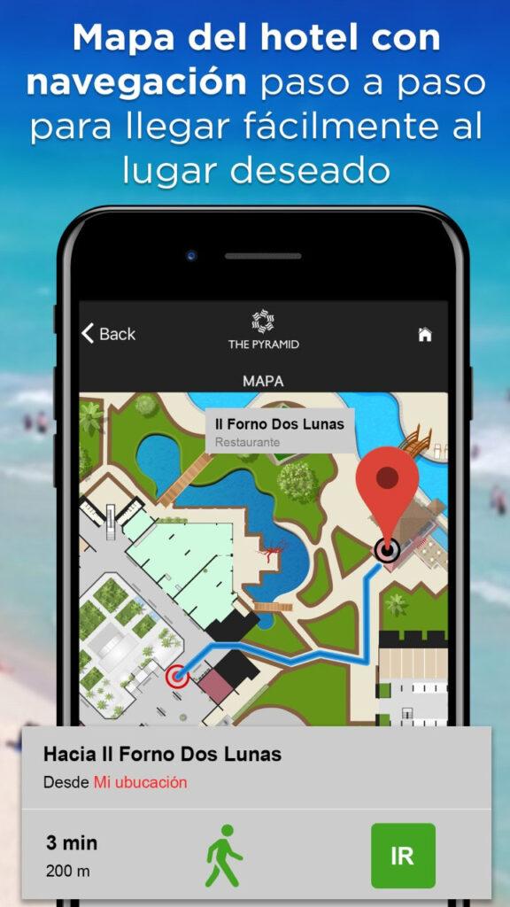 indoor navigation for hotels