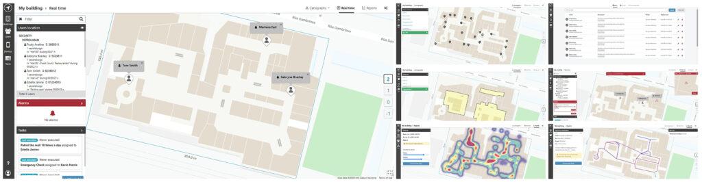 Gestión de empleados de hotel por geolocalización.
